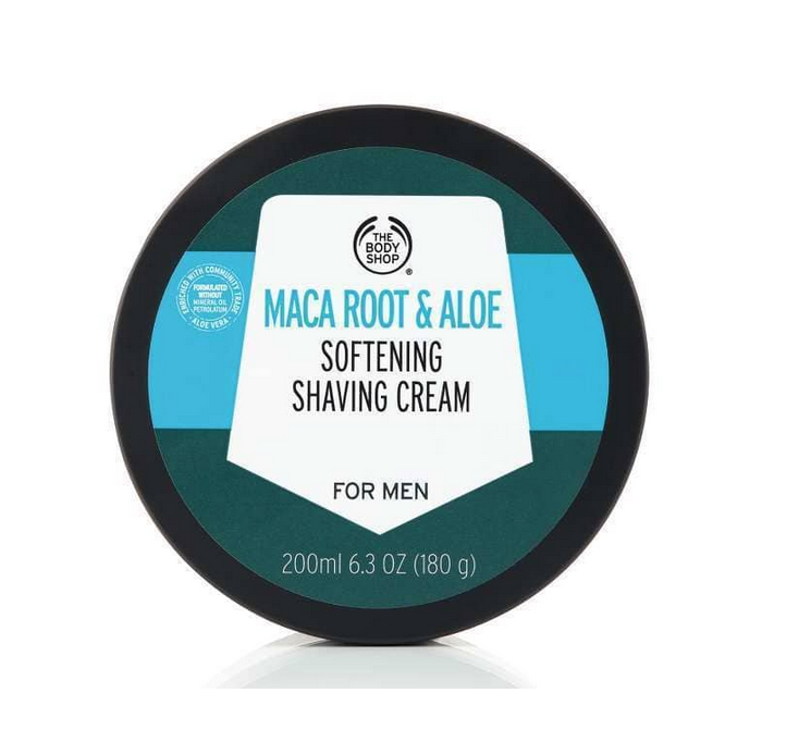 Maca Root & Aloe Softening Shaving Cream