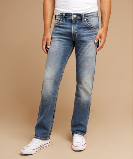 Silver jeans – eddie
