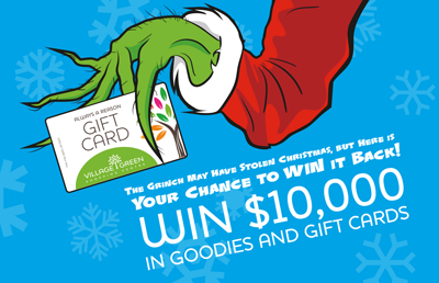 Win $10,000 in Goodies and Gift Cards