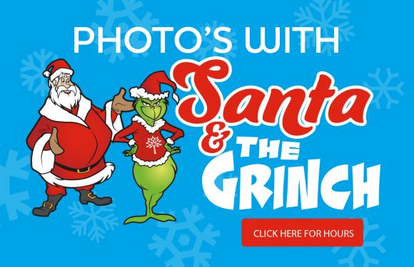Photos with Santa & The Grinch