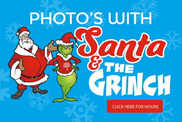 Photos with Santa & The Grinch