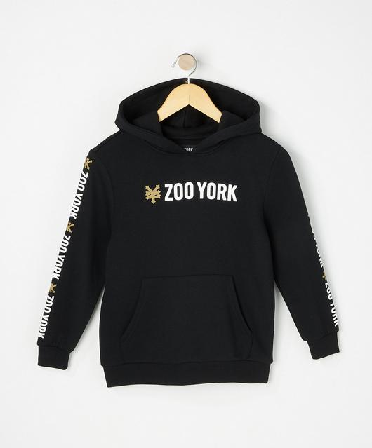 Zoo York Boys Sleeve Logo Hoodie