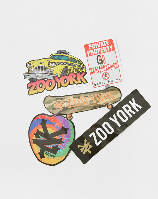 Zoo York Sticker Pack A