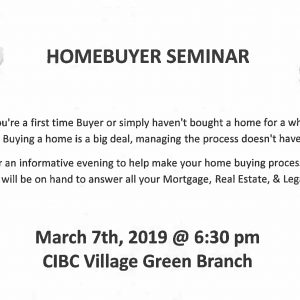 CIBC HomeBuyer Seminar