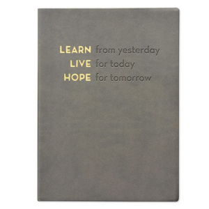 Eccolo Learn Live Hope Journal