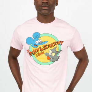 Itchy & Scratchy Graphic Tee