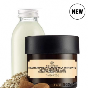 Mediterranean Almond Mild with Oats Instant Soothing Mask