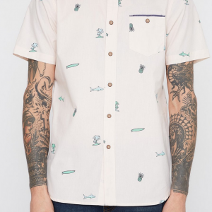 Sharkwater Button Down