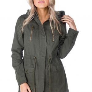 Tatoo Twill Hooded Jacket
