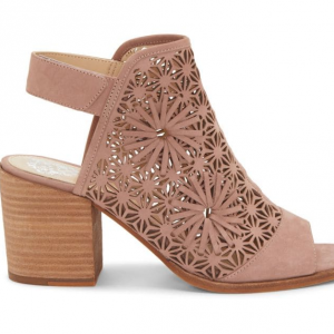 Vince Camuto Floral Laser-Cut Sandals