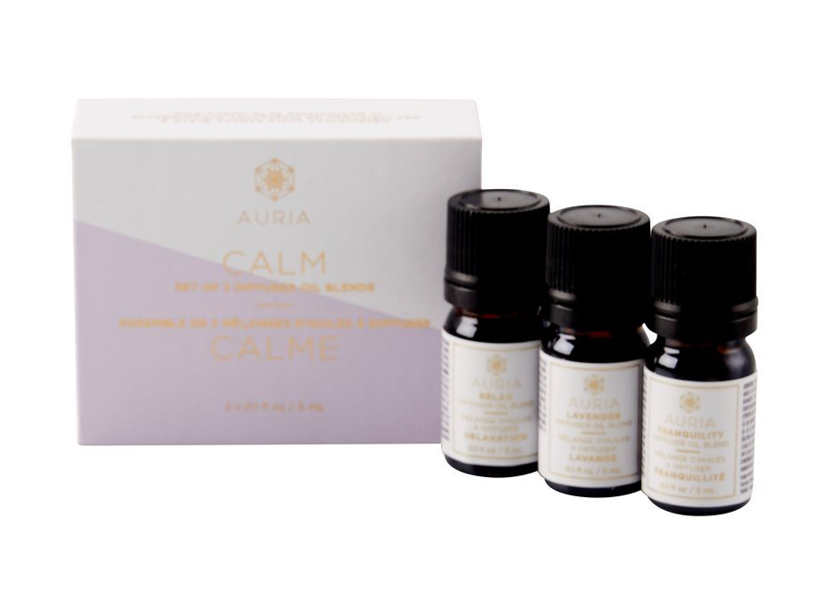 Auria Diffuser Oil Calm Set of 3
