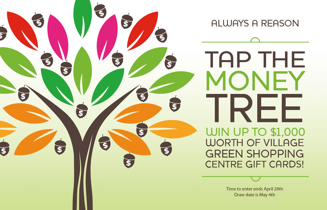 Tap the Money Tree Spring Contest