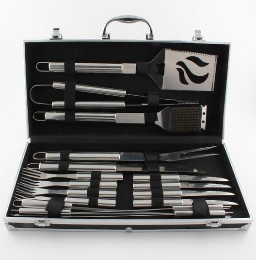 17pc BBQ Tool Set