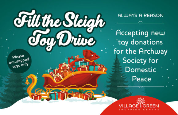Fill the Sleigh Toy Drive