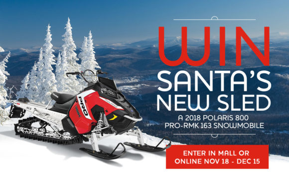 Win Santa's New Sled