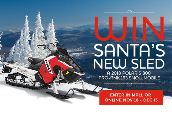 Win Santa's New Sled
