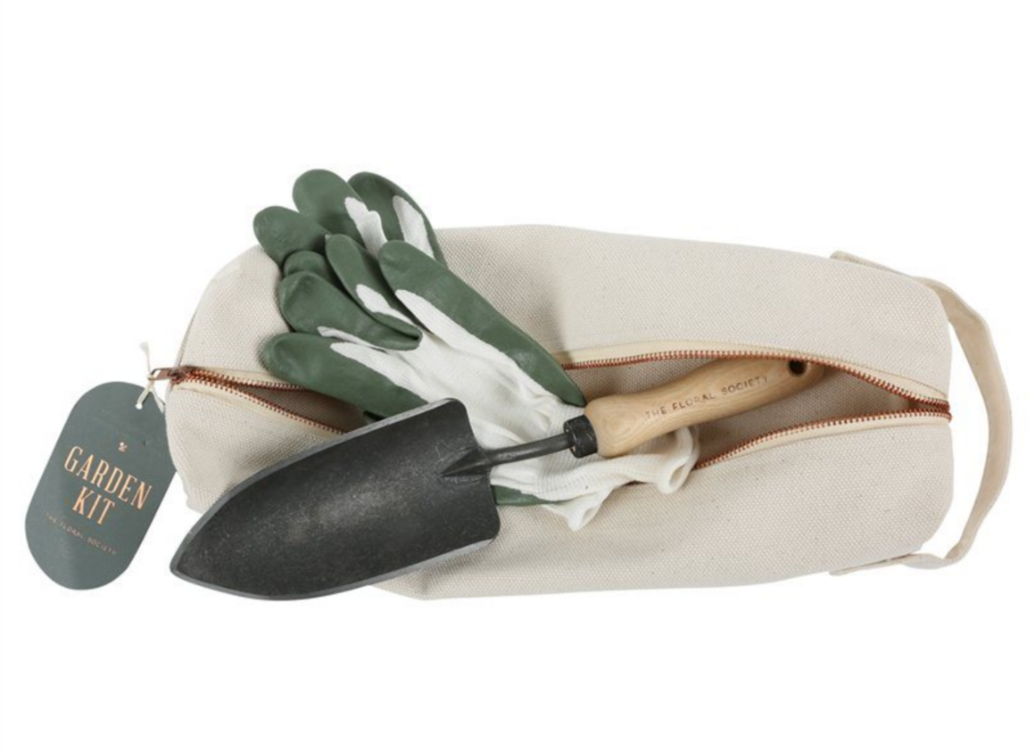Gloves and Trowel Garden Kit
