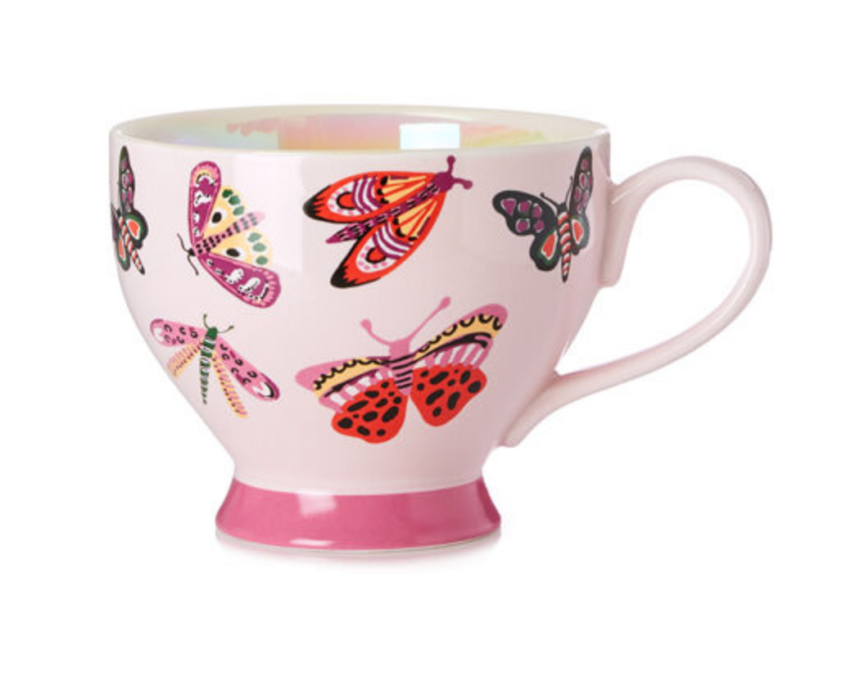 Butterfly Dreamy Bliss Bloom Teacup