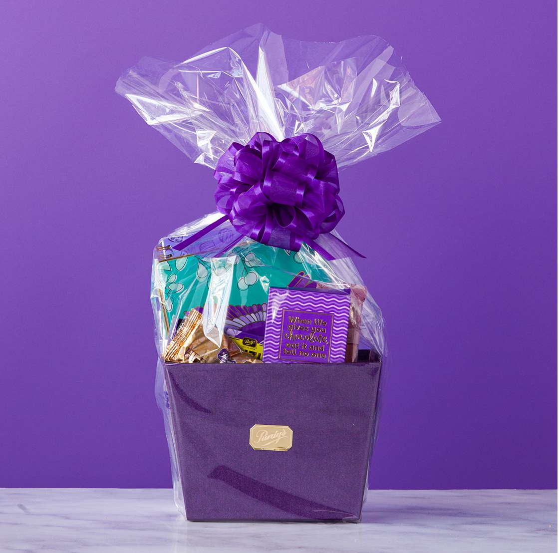 To Her With Love Gift Basket