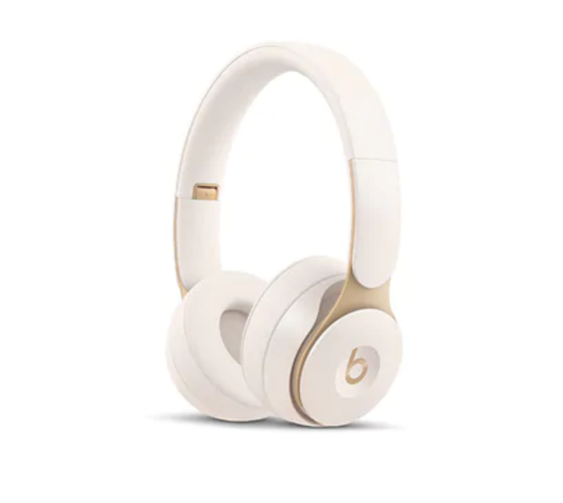 Beats Solo Pro Wireless Noise Cancelling Headphones – Ivory