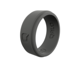 GNC Qalo Step Edge Charcoal Ring