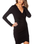 Eclipse Long Sleeve Bodycon Dress