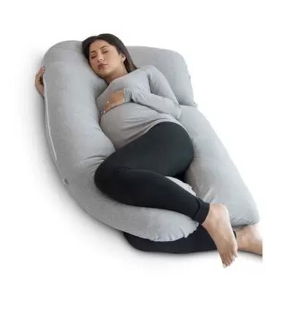 Pharmedoc U-Shaped Pregnancy Pillow