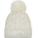 Lids Seahawks Cuffed Knit Hat with Pom