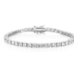 Michael Hill Tennis Bracelet with Cubic Zirconia in Sterling Silver