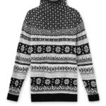 Northern Reflections Snowflake Print Jacquard Sweater