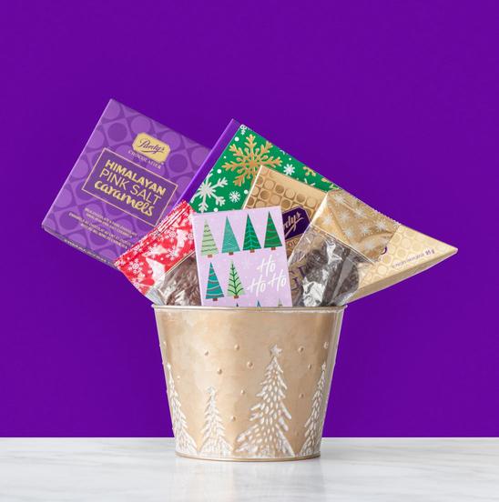 Holiday Treats Chocolate Gift Basket