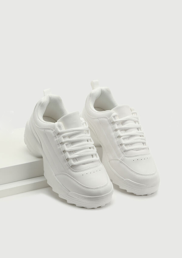Chunky Jagged Sole Sneakers