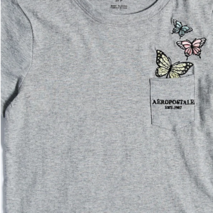 Classic Pocket Embroidery Graphic Tee