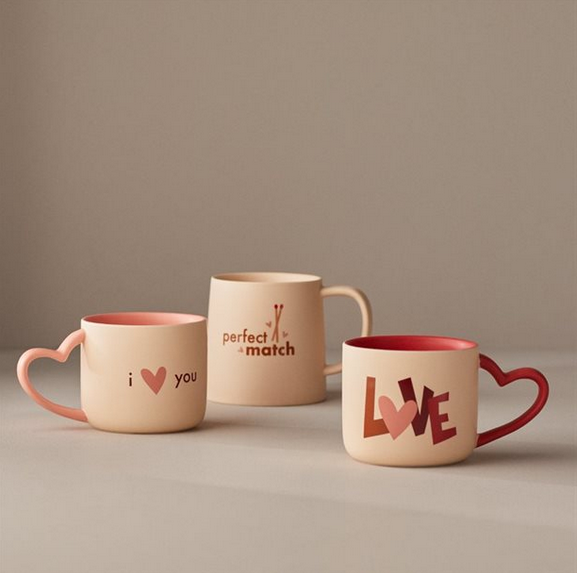Heart Shaped Mugs – Variety in store
