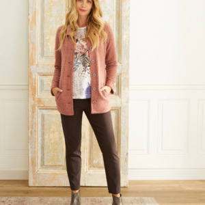 Stand Collar Boucle Jacket
