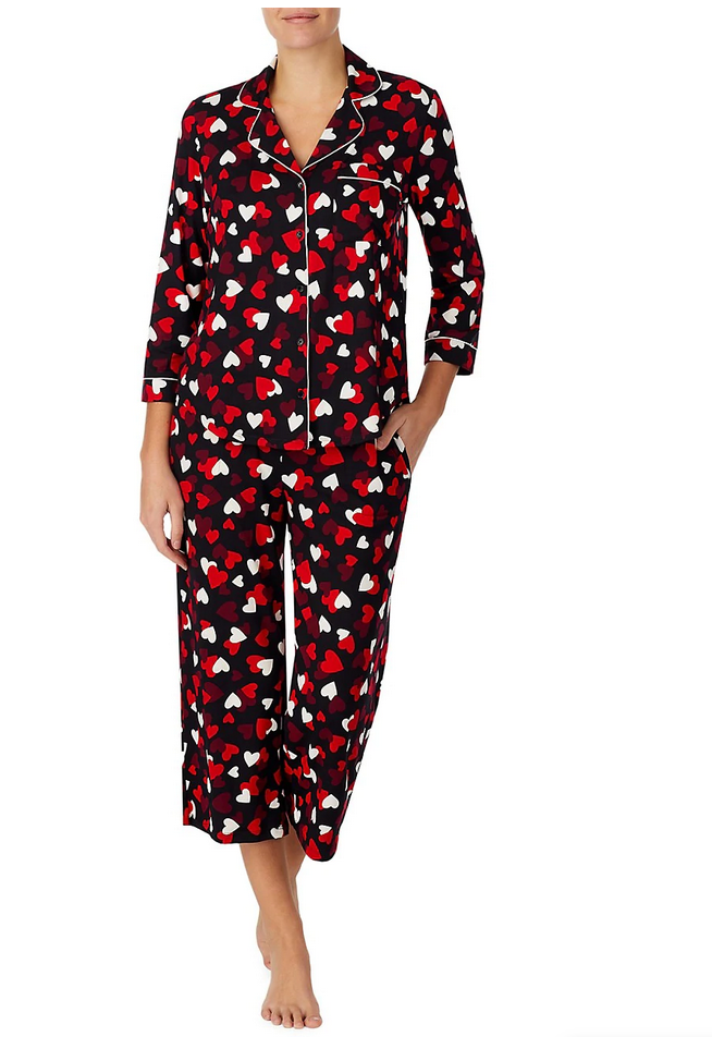 Kate Spade 2-piece Cropped Pyjama Set
