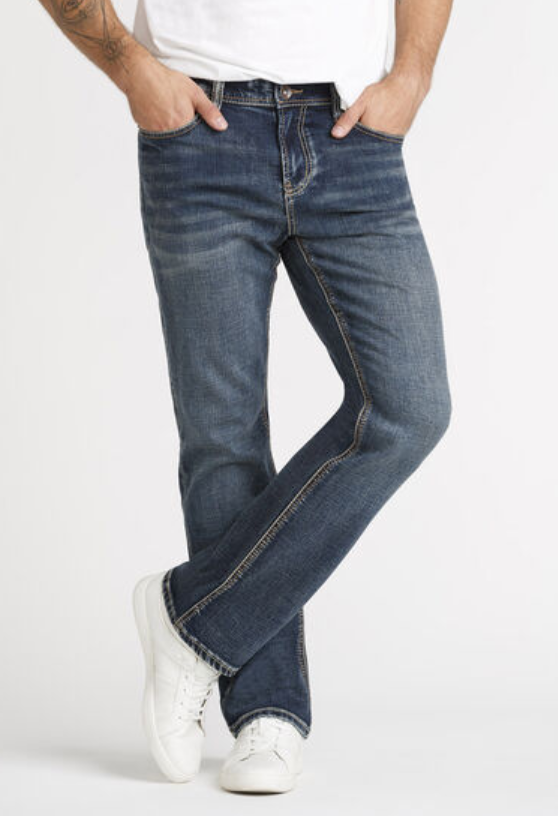 Dark Wash Classic Boot Jeans