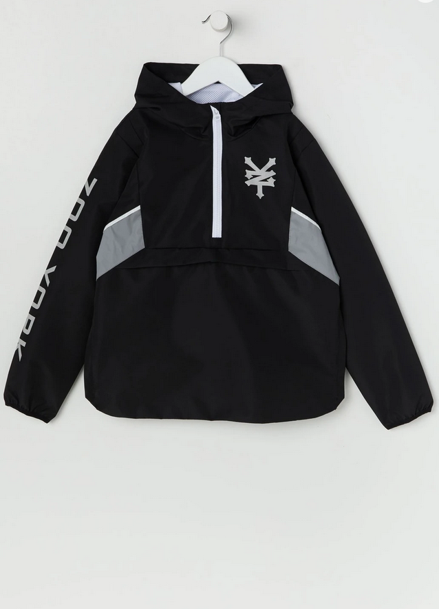Zoo York Half-Zip Reflective Windbreaker
