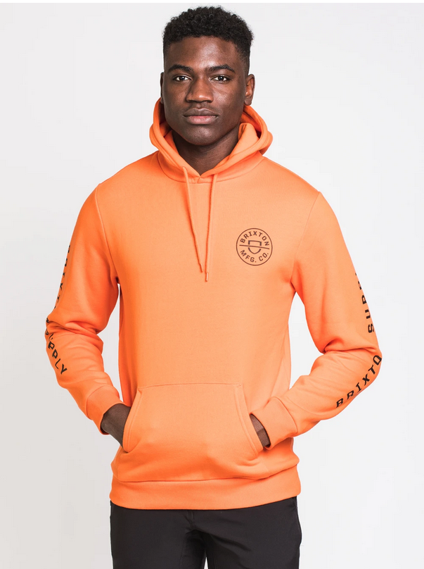 Crest Pullover – Carrot
