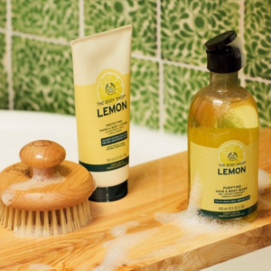 Lemon Purifying Hair & Body Wash : Protective Lotion
