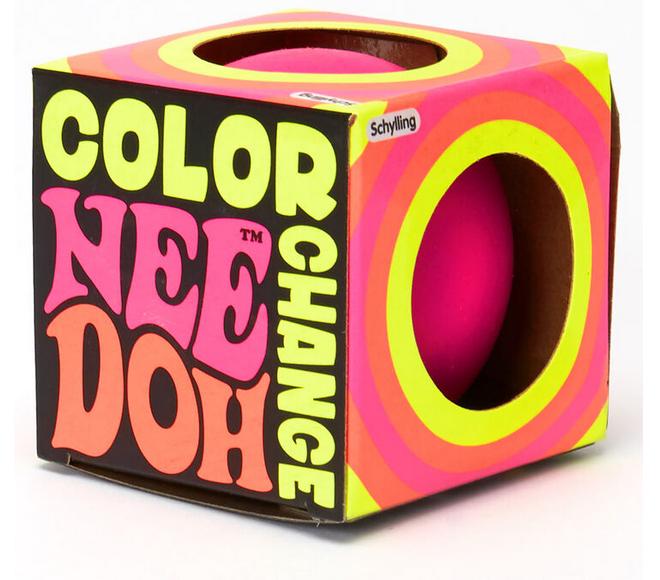 Nee Doh Color Change Ball Fidget Toy