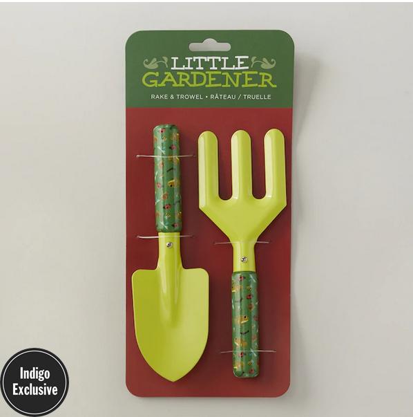 Little Gardener Frog & Ladybug Tool Set