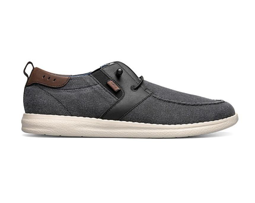 Nunn Bush Men's Brewski Moc Toe Wallabee Shoes