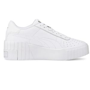 Puma Cali Leather Wedge Sneakers