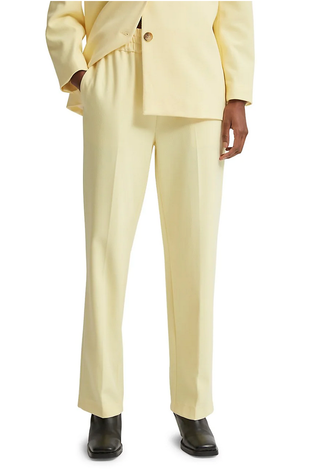 Selected Femme Mid-Waste Straight -Leg Pant