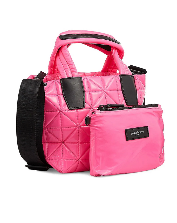 Vee Collective Mini Quilted Nylon Tote