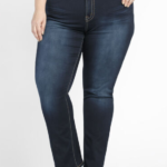Warehouse One Women's Plus Straight Jeans