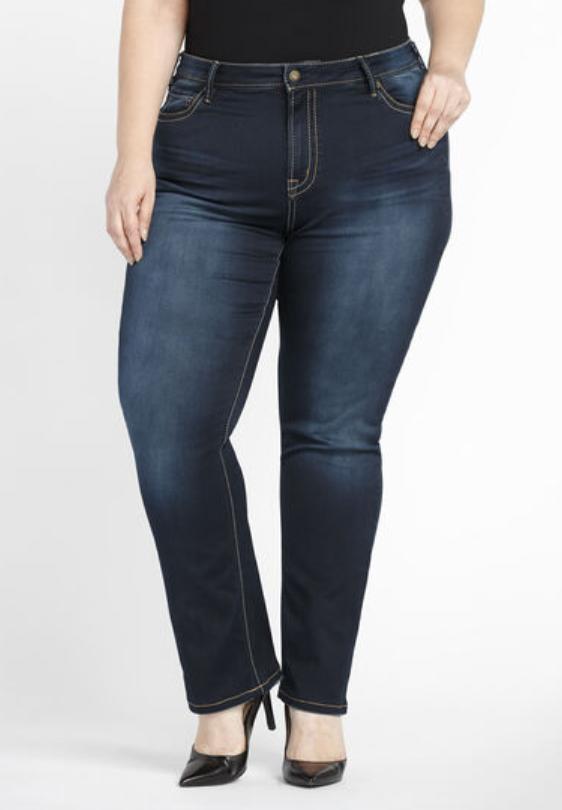 Women's Plus Straight Jeans