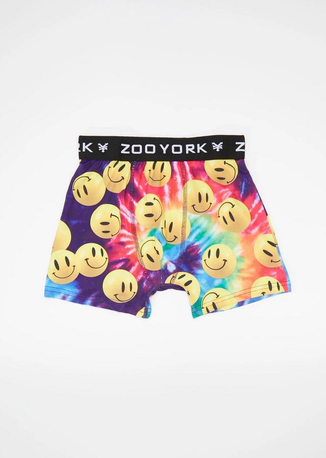 Zoo York Youth Tie-Dye Smiley Boxe