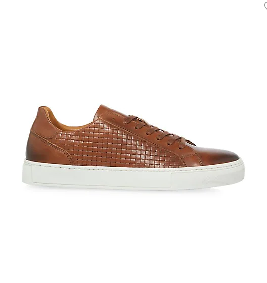 Dune London Tyrone Basketweave Sneakers